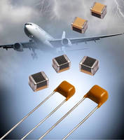 Radial Leaded Varistors protect circuits and filter noise.