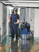 Industrial Vacuum Aids Flood Clean-up by Collecting 26 Gallons of Water Per Minute