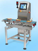 Touchscreen-Operated Checkweigher promotes accuracy, reliability.