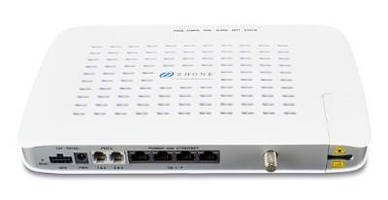 GPON ONT delivers triple-play services in multi-room facilities.
