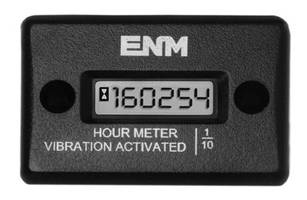 Vibration Powered Hour Meter features magnetic mounting.
