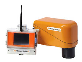 Moisture Monitor prevents excessive water during recycling.