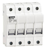 DIN Rail Mount Terminal Block hold Class CC and Midget fuses.