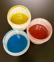 Electrically Conductive Inks and Coatings come in primary colors.