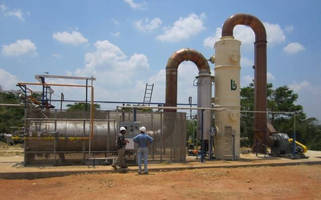 Quench/Scrubber Systems treat contaminants from high-temp sources.