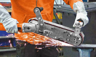 Belt Grinding Systems feature mobile handheld design.