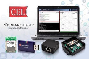 CEL Unveils Multiple Thread-ready Products, Including Modules, USB Sticks, Gateways, and Award-winning Scripting Tools