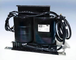Compact Isolation Transformer can be used in sealed environments.