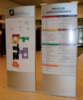Healthcare/Hospital Signs create adaptable way-finding systems.