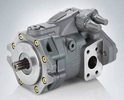 Axial Piston Pump enhances hydraulic fan controls.