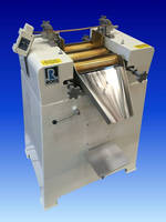 Versatile Three Roll Mills for Lab and Production Requirements
