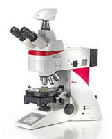 Polarization Microscope aids crystalline structure investigation.