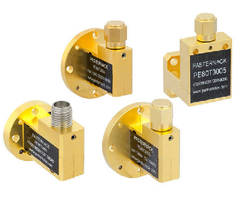Waveguide Detectors cover 26.5-110 GHz frequency range.
