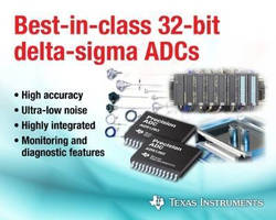 Analog-to-Digital Converters integrate fault detection.