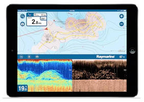 Sonar-based Charting App works with any sounder via Wi-Fi.