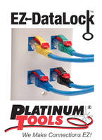 Platinum Tools® Adds EZ-Datalock(TM) Strain Reliefs to EZ-RJ45® System Solutions