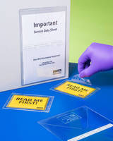 Custom Vinyl Protectors protect medical, pharmaceutical documents.