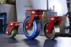 Heavy-Duty Casters feature maintenance-free design.