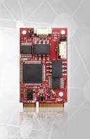 Ruggedized mPCIe CAN Bus Adapter IoT-enables embedded systems.