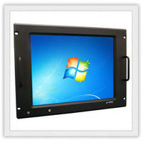 Rack Mount LCD/Computers feature ruggedized design.