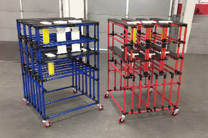 New Creform Production-Oriented Cart Promotes Material Handling Efficiency