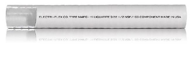 Flexible Liquidtight Conduit features food-grade design.