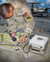 Battery Powered Heat Gun For Wire Repair Applications Safety Approved for Use in Fueled Aircraft by Navair