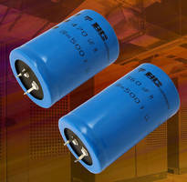 Snap-in Power Aluminum Electrolytic Capacitors have 500 V rating.