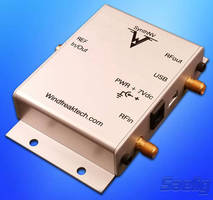 Tunable RF Signal Generator/Power Detector is software-tunable.