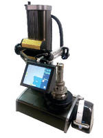 Benchtop Tool Presetter features camera and LCD touchscreen.