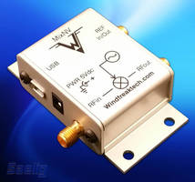 Programmable RF Mixer/Signal Generator can up- or down-convert.