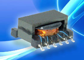 Gate-Drive Transformers control automotive MOSFETs.