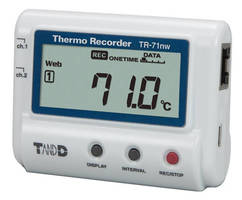 Dual-Channel Temperature Datalogger supports automated collection.