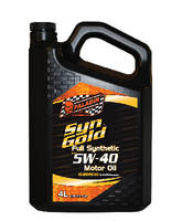 Synthetic Motor Oils minimize wear and viscosity breakdown.