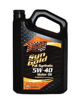 Synthetic Motor Oils minimize wear and viscosity breakdown.