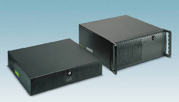 Rack-Mount Industrial PCs come in 2U and 4U form factors.
