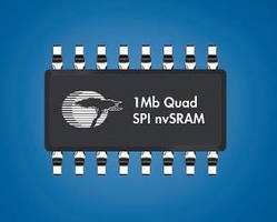 Non-Volatile 1 MB SRAM captures data upon power loss.