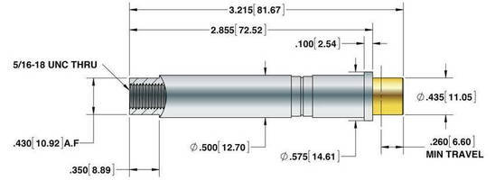 High Current Probe ensures reliable and repeatable testing.