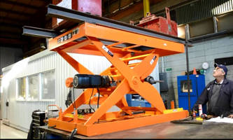 Handling Specialty Provides Skillet Lifts to Automotive Assembly Plant