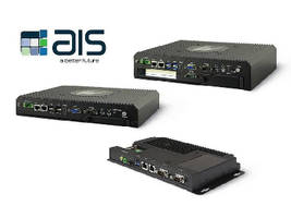 AIS's New Industrial Box PCs and Fanless Embedded Computers Combine Expansion Capability, Modularity and Performance for Increased Manufacturing Process Efficiency, Quality and Productivity