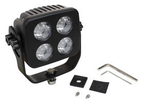 IR LED Light Emitter (12 W) produces 500 x 50 ft beam.