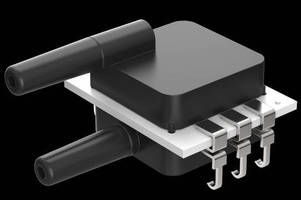 Millivolt Pressure Sensors come in miniature DIP packages.