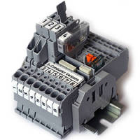 Fuse Terminal Blocks come in 3-conductor variant.