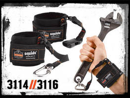 Wrist Lanyards keep tools at hand and facilitate exchange.