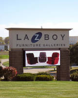 La-Z-Boy, Known for its Stylish Furniture, Displays a New Great-Looking Full Color LED Sign from Electro-Matic Visual