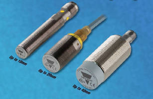 Inductive Proximity Sensors offer extended sensing range.