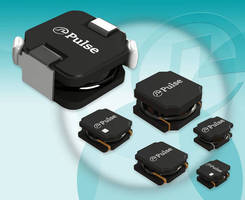 Shielded, SMT Power Inductors minimize EMI in small electronics.