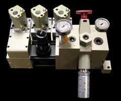 Pneumatic Counterbalance enhances part quality and press life.