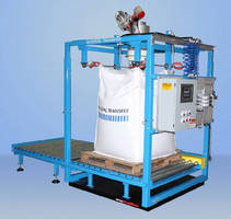 Bulk Bag Filling System includes scale and weight indicator.