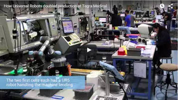 Robotics Doubles Production Output at Tegra Medical